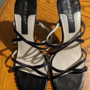 Nine West Black Sandals - Size 8